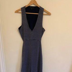 Sanctuary striped maxi dress